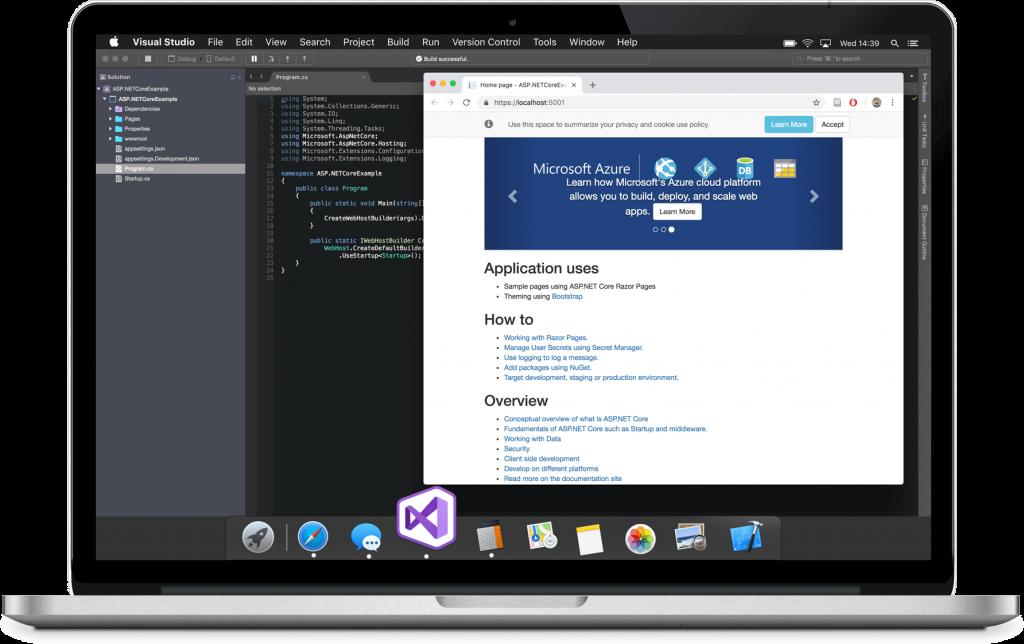 Realizzazione software per il Macbook con .NET Core